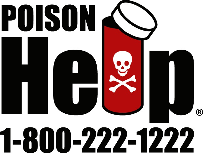Call 1-800-222-1222 for Poison Help