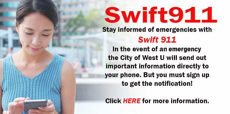 Girl looking at cell phone, swift 911,