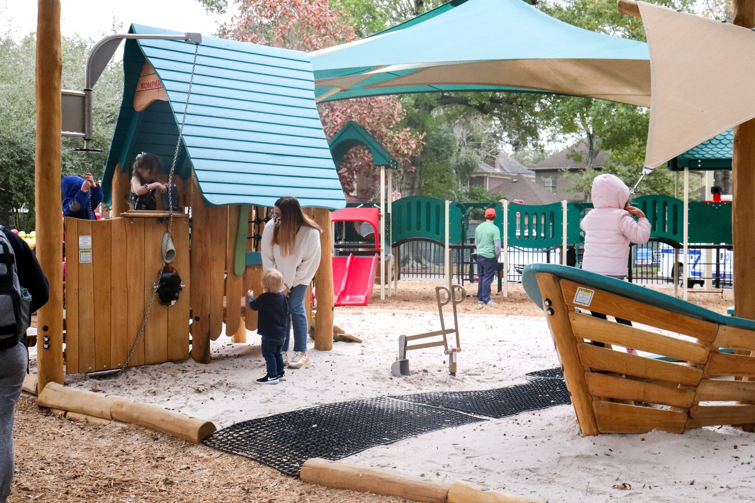 Colonial Playground Reopening