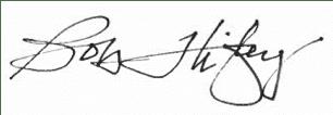 bob higley signature