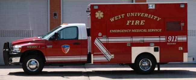 Emergency Medical Services truck